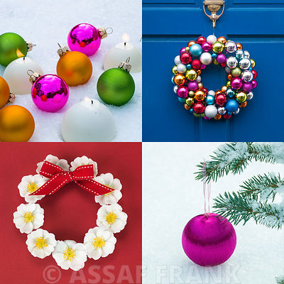 Festive Baubles and Wreaths