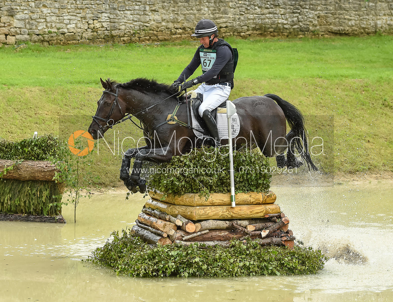 Dan Jocelyn and BLACKTHORN CRUISE, Equitrek Bramham Horse Trials 2018