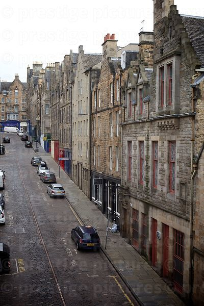 Typical Edinburgh Side Street