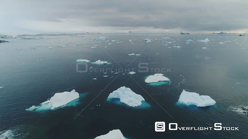 Small Ice Bergs Antarctica