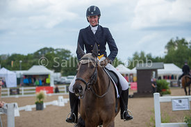 Hartpury Student Victoria Leabeater after her CCI 1* dressage test