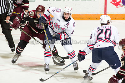 Oshawa Generals vs Peterborough Petes on October 2, 2015