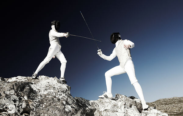 fencing on mountain