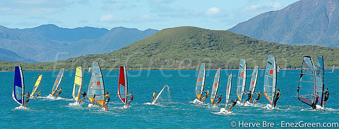 New-Caledonia wind boarding