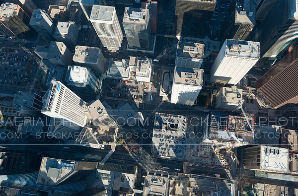 Downtown Calgary Overhead