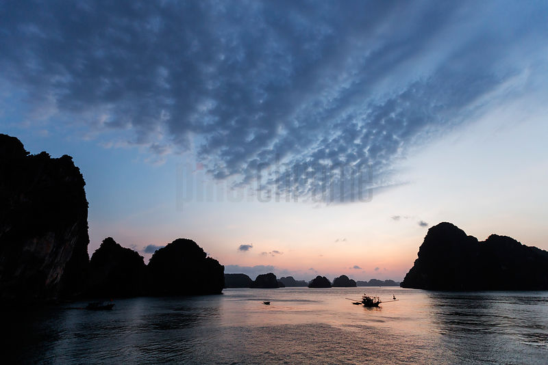Halong Bay Sunrise