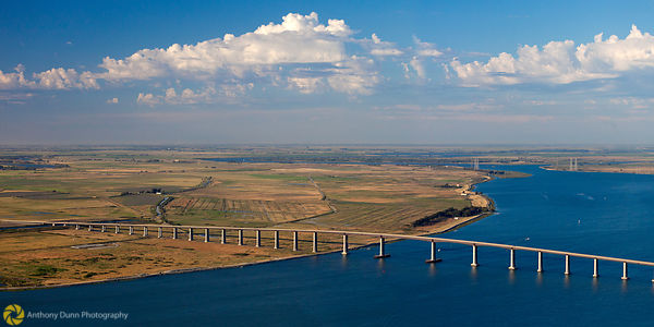 Aerial View of the Antioch Bridge #1