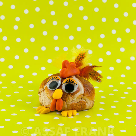 Hot cross bun Easter Chicken