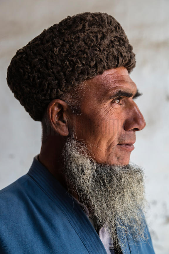 Portrait of a Turkmen Man