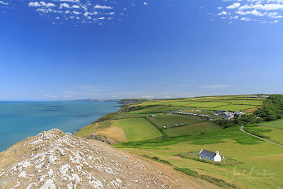 VIEWS FROM FOEL Y MWNT