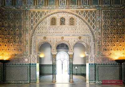 Hall of Ambassadors, Alcazar, Seville, Spain