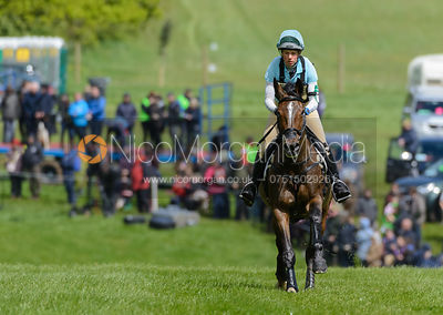 Izzy Taylor and BRIARLANDS MATILDA - Cross Country phase, Mitsubishi Motors Badminton Horse Trials 2014