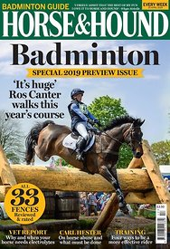 Horse & Hound Badminton Preview Cover
