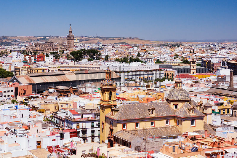 Cityscape of Seville Andalucia Spain
