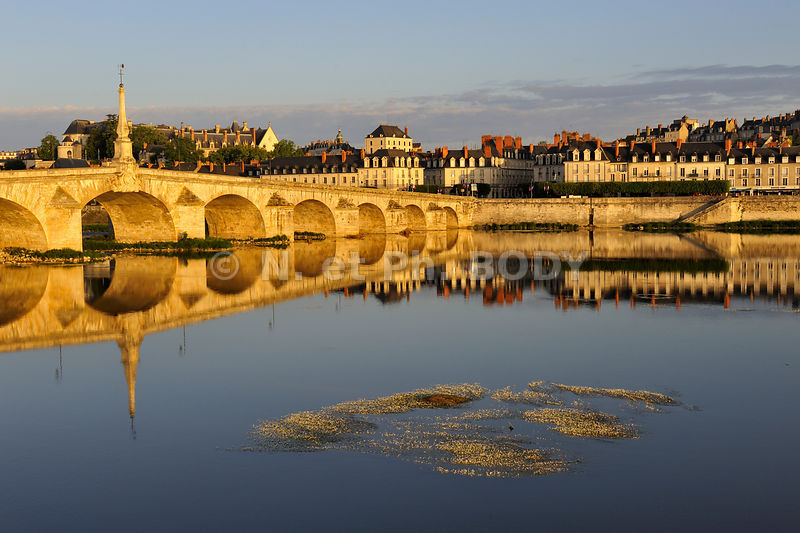 FRANCE, VALLEE DE LA LOIRE, BLOIS, LA LOIRE//France, Loir Et Cher, The Loire Valley , Blois, The Loire River