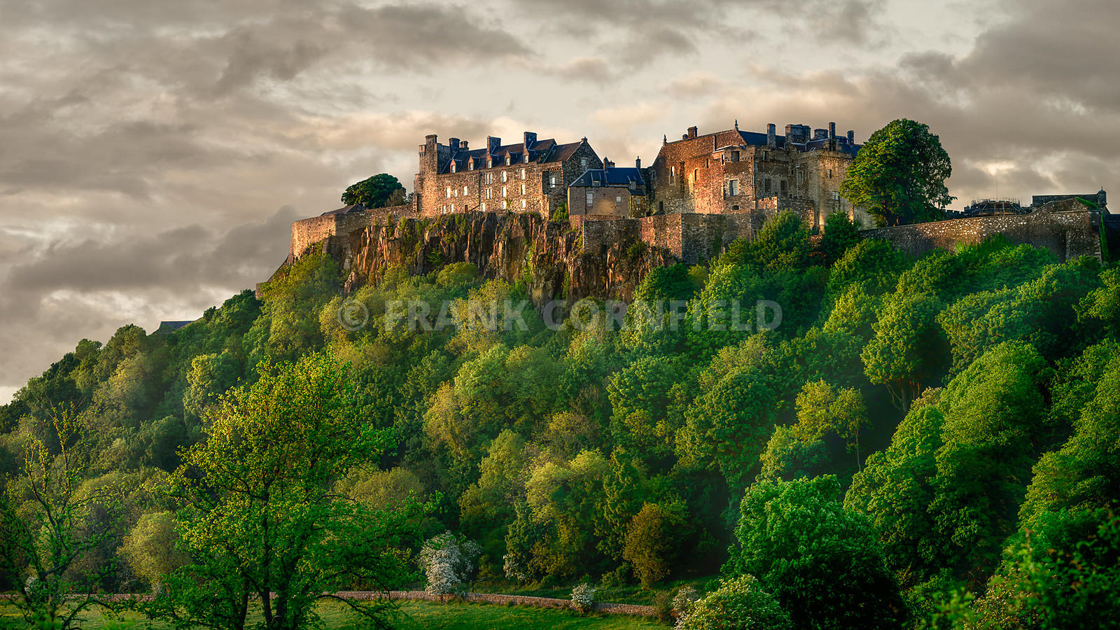 Stirling Castle Summer Sunset