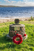 HMS Armadillo memorial Loch Long