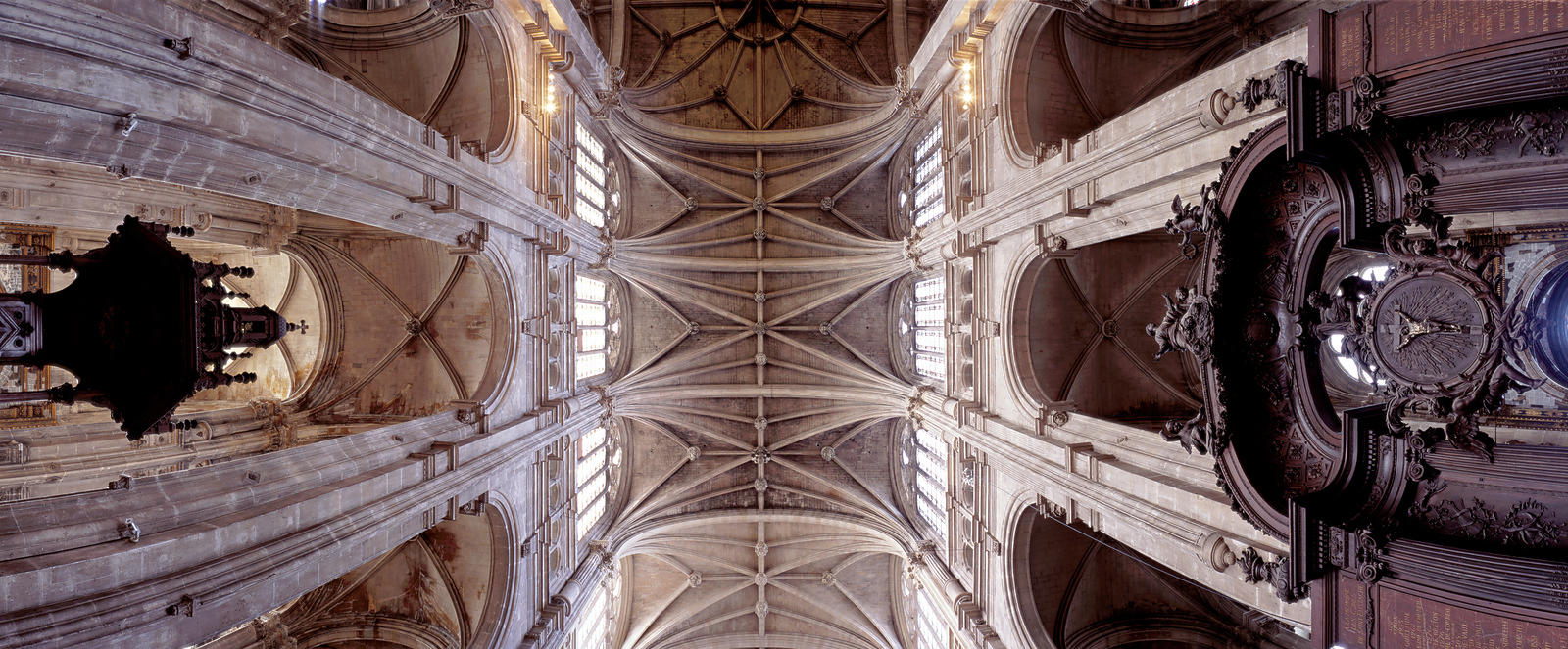 Saint Eustache church vault, Paris