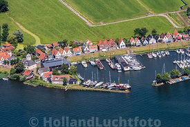 Durgerdam - Luchtfoto haven