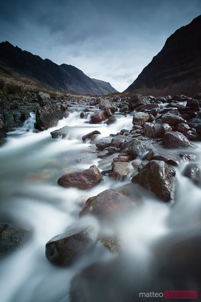 River Coupall Glencoe Scotland UK