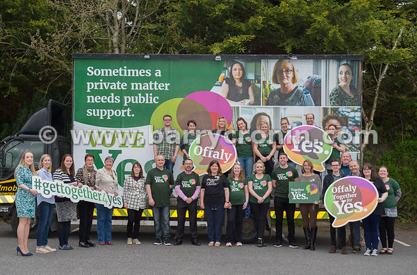 NO REPRO FEES - 14th May, 2018. Pictured at Tullamore Court Hotel were volunteers and supporters.Orla O'Connor, Co-Director o...