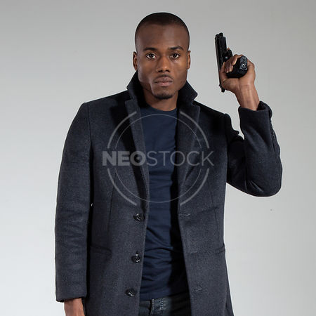 Alex Action Thriller Stock Photography