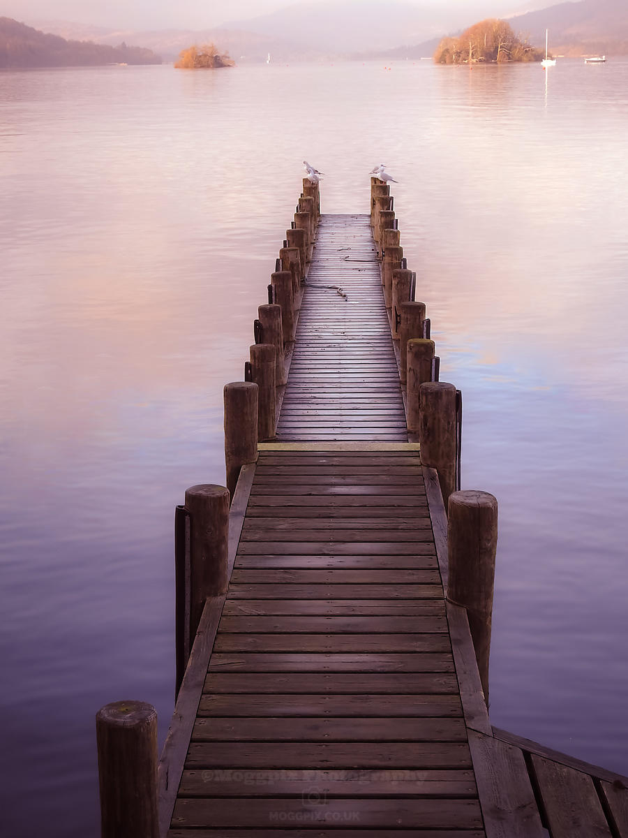 A Pier of Tranquil View