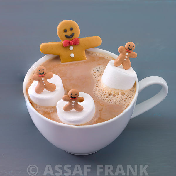 Gingerbread Hot Choclate Jacuzzi