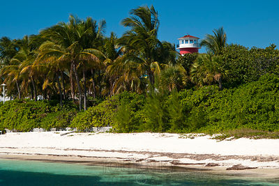 Bahamian Lighthouse & Beach