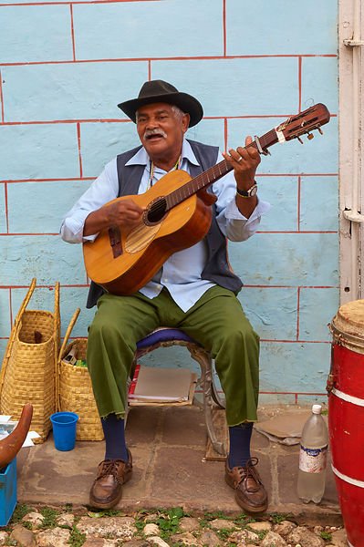 Guitarist in Trinidad