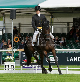 Ben Way and GALLEY LIGHT - Burghley 2015