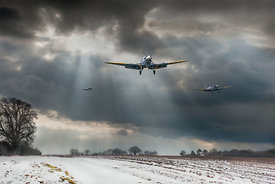 Winter homecoming Spitfires