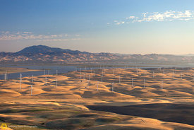 Windmills and Mt. Diablo #2