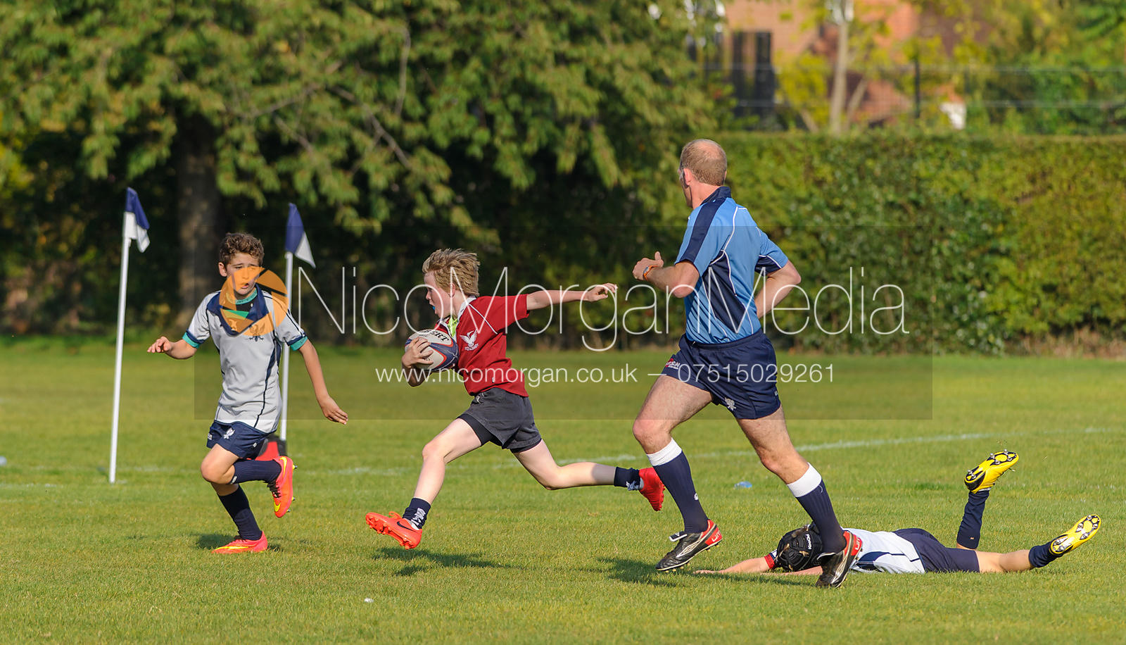 Cormac Calnan - Bedford School vs. Stamford School - Rugby Union
