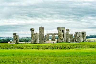 Stonehenge On The Salisbury Plain- Wiltshire, England