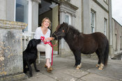 6th October, 2015. Atlanta Pollack pictured at her home, Mountainstown House, Castletown, Navan, County Meath. Photo:Barry Cr...