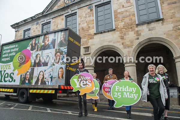NO REPRO FEES - 9th May, 2018. Pictured at the 'Get Together For Yes' tour in Clonmel is . .For more info contact Christina K...