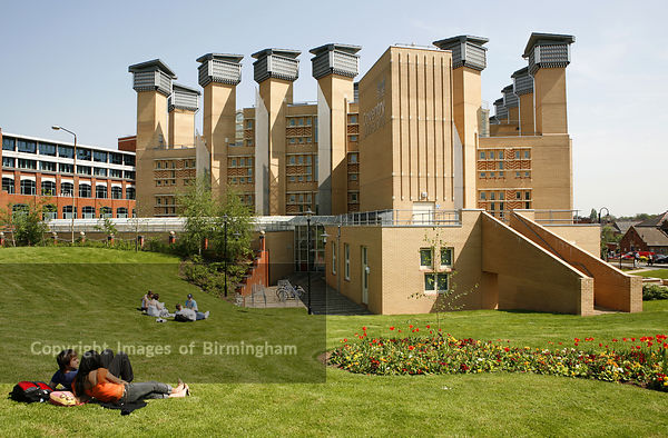 Coventry University, West Midlands, England. The new library building.