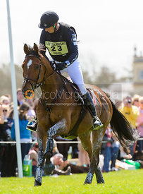 Marco Biasia and TATCHOU - Cross Country - Mitsubishi Motors Badminton Horse Trials 2013.