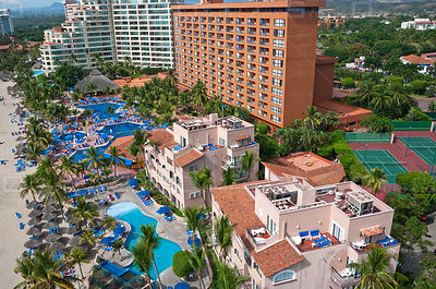 Hotels and Beach Resort Playa el Palmar Ixtapa Mexico