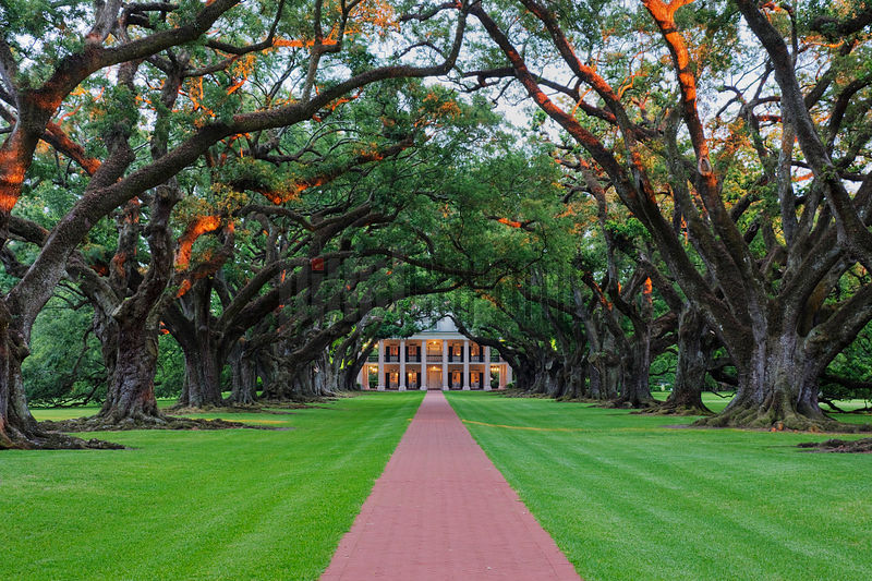 Louisiana, Oak Alley Plantation