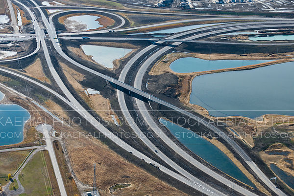 High-Speed Highway Interchange Construction