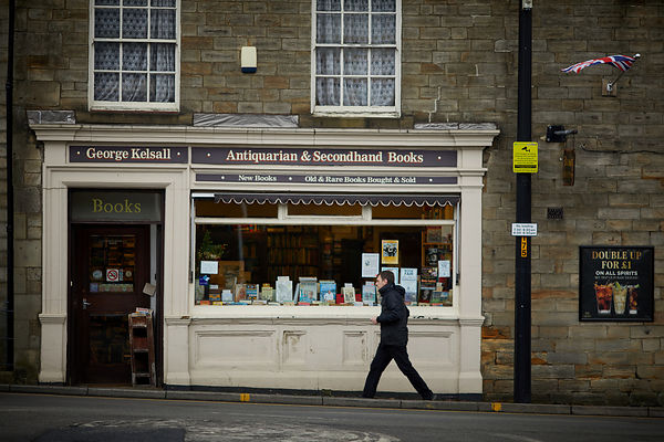 Secondhand book store