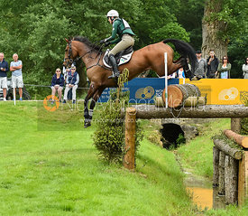 Aoife Clark and FERNHILL ADVENTURE, Equitrek Bramham Horse Trials 2018