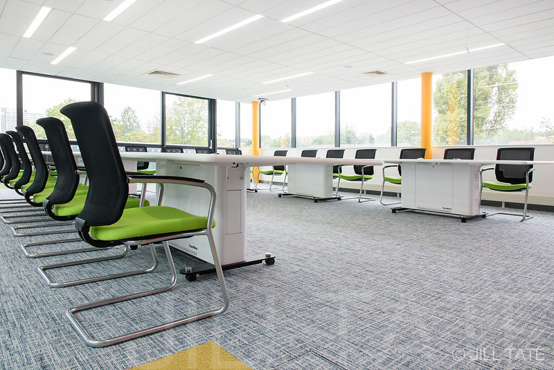 Rye Hill House, Newcastle College | Client: Desso
