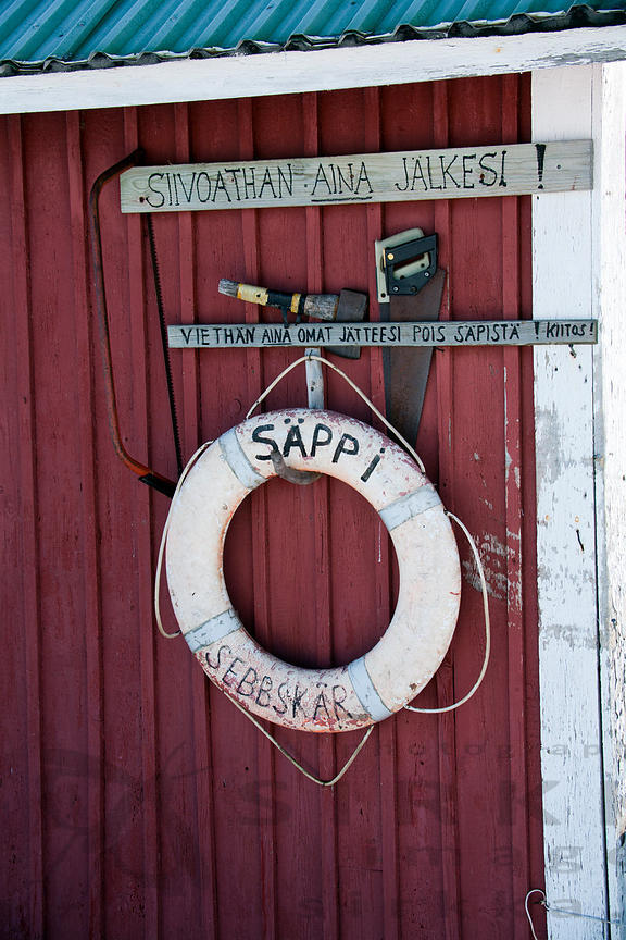 Signs in Säppi