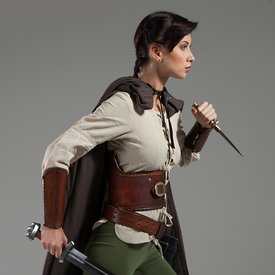 Natalia A Medieval Adventurer stock photos