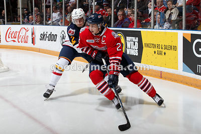 Oshawa Generals vs Barrie Colts January 29, 2016
