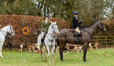 Boogie Machin at the meet at Eaton Grange. The Belvoir Hunt at Eaton Grange 7/2