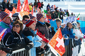St.Moritz Corviglia FIS 1st LADIES. SUPER COMBINED